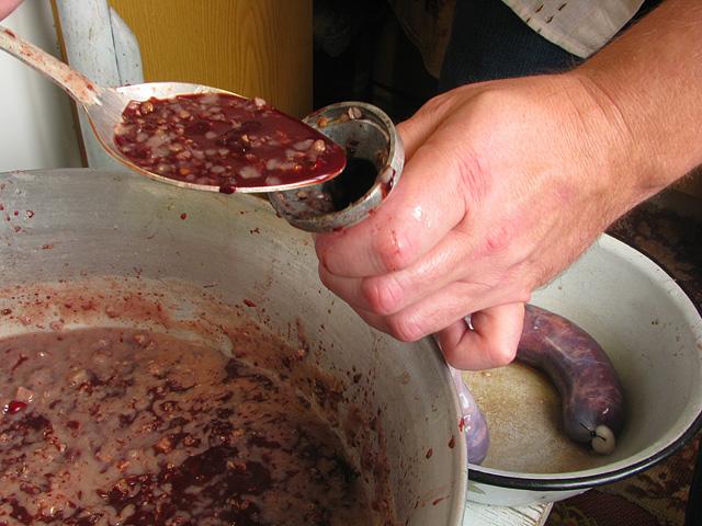 Рецепты кровяной колбасы в домашних условиях видео