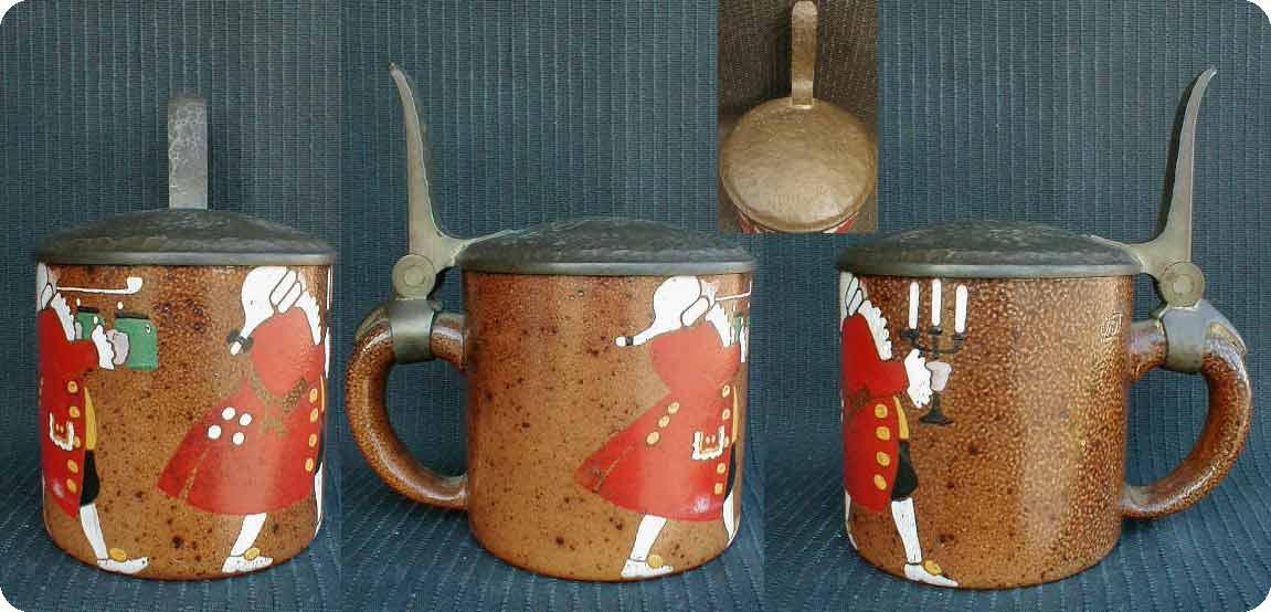 Пивная кружка, посвященная королю Людовику. Изготовлена примерно в 1900 году из керамики с оловянной крышкой. Цена этой кружки 1600$.